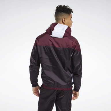 Men Training Burgundy MYT Jacket