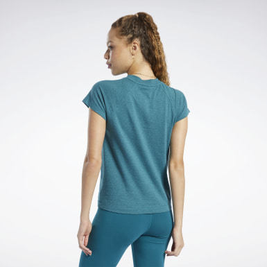 Playera Training Essentials Logo Mujer Entrenamiento Funcional