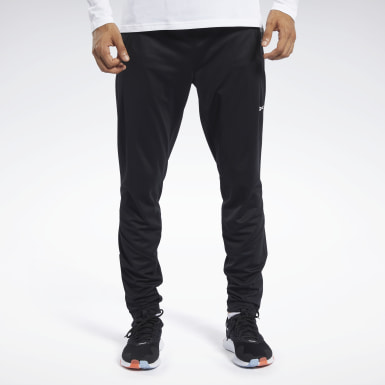 Men Fitness & Training Black Speedwick Track Pants