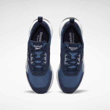 Women Classics Blue Reebok Tradition Shoes
