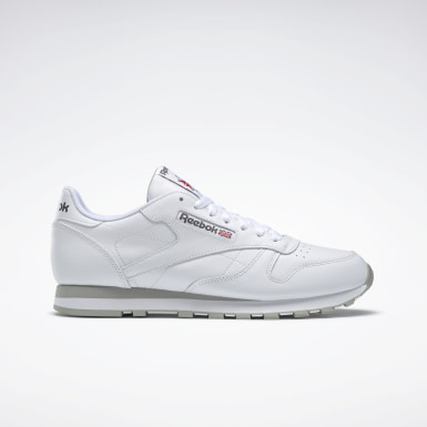 Men Classics White Classic Leather