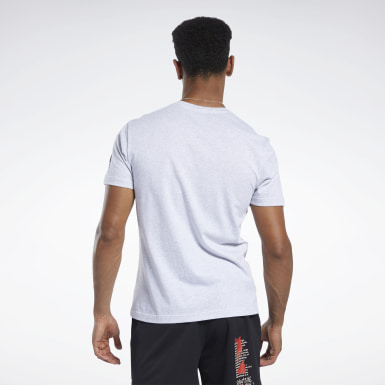 Men Cross Training Grey Reebok CrossFit® Excellence Tee