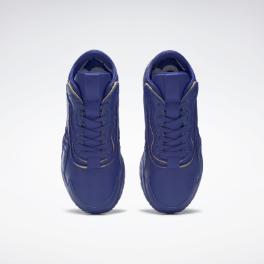 Classics Blue VB Bolton Leather Shoes