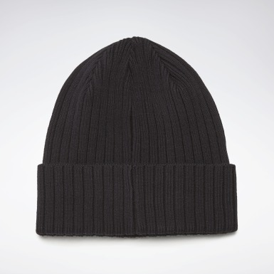 Running Black Active Foundation Logo Beanie