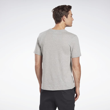 GB M SS COTTON T VCTR Gris Hombre Fitness & Training