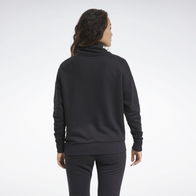 Women Outdoor Black Training Essentials Cover-Up