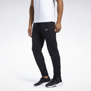 Men Training Black Workout Ready Track Pant