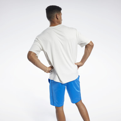 Men Fitness & Training White MYT Tee