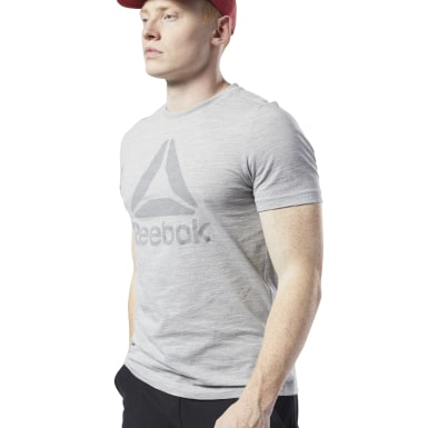 Camiseta Training Essentials Marble Melange