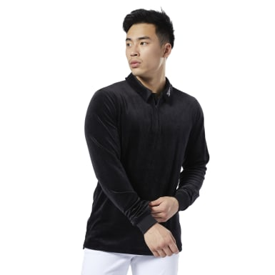 Men Classics Black Classics Vector Polo Shirt