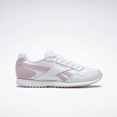 Women Classics White Reebok Royal Glide Ripple Shoes