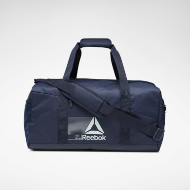 Training Blue Active Foundation Grip Duffel Bag Medium