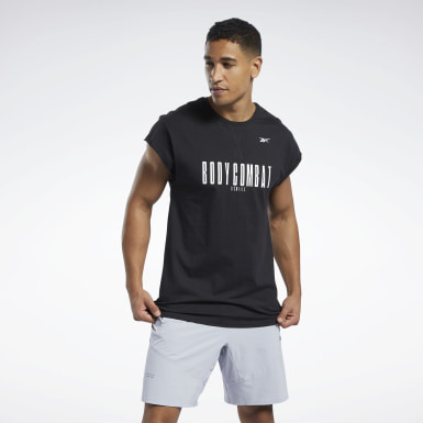 Men Studio Black LES MILLS® BODYCOMBAT® Tee