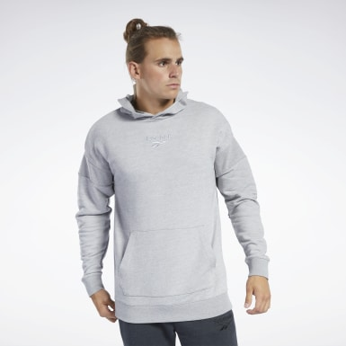 Sweat à capuche Training Essentials Gris Hommes Fitness & Training