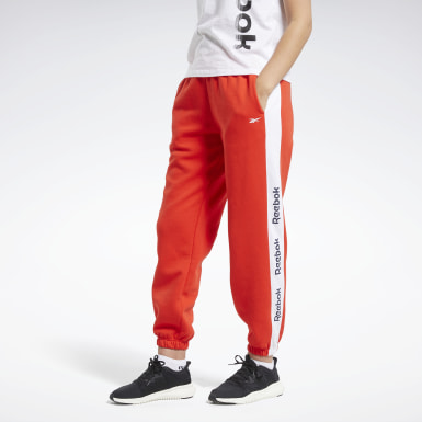 Dam Fitness & Träning Röd Training Essentials Logo Pants