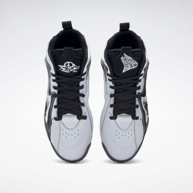 Men Classics White Kamikaze II Men's Basketball Shoes