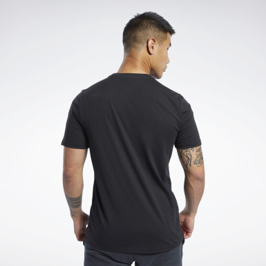 Men Fitness & Training Black UFC FG Logo Tee
