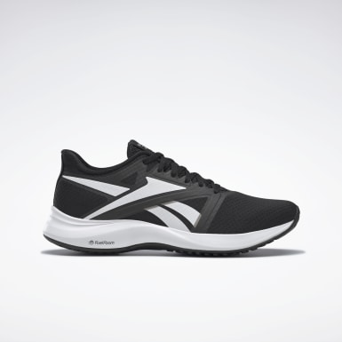 Men Running Black Reebok Runner 5 Shoes