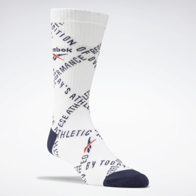 Classics White Classics Checks and Stripes Socks