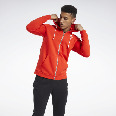 Men Fitness & Training Training Essentials Fleece Zip Up Hoodie