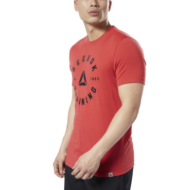 Men Training Red Training Speedwick Tee