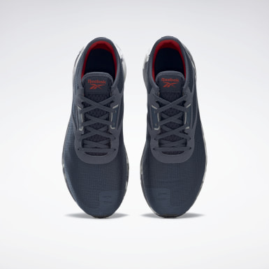 Men Running Blue Reebok Flashfilm 3 Shoes