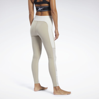 Women Combat Beige Combat Kickboxing Tights