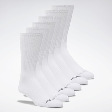 Men Training Crew Basic Socks Six Pack