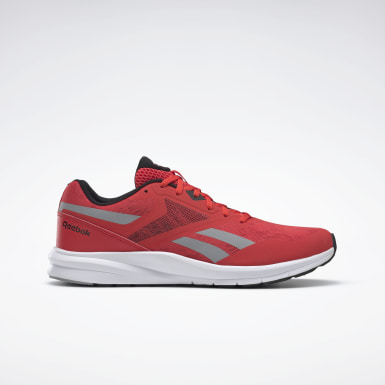 Men Running Red Reebok Runner 4 Men's Running Shoes
