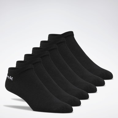 Calcetines de corte bajo Active Core - Pack de 6 Negro Fitness & Training