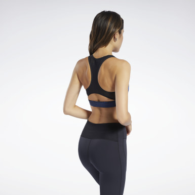 Bra Reebok Hero Medium-Impact Racer Donna Fitness & Training