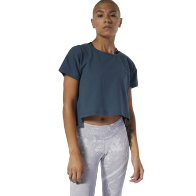 Combat Geperforeerde Croptop