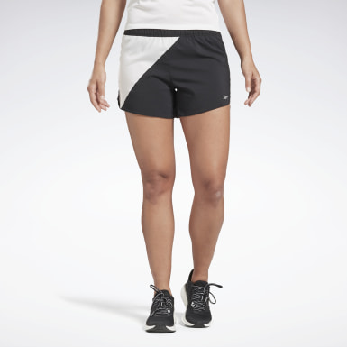 Women Running Black Running Essentials 4 Inch Shorts
