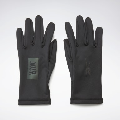 Running Black OS Run Gloves