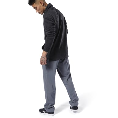 Pantaloni Training Essentials Woven Grigio Uomo Fitness & Training