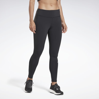 Women Running Black Running Essentials Leggings