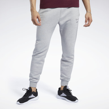 Men Fitness & Training Grey Training Essentials Mélange Pants