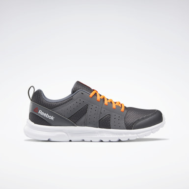 Men Running Grey Reebok Rise Supreme RG