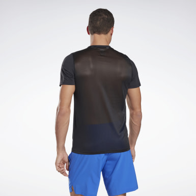 T-shirt Workout Ready Activchill Nero Uomo Fitness & Training