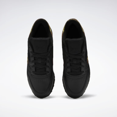 Tenis Classic Leather Negro Mujer Classics