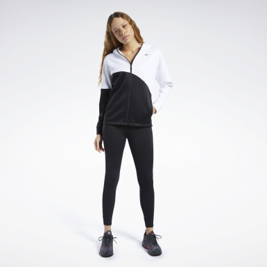 Frauen Fitness & Training Track Suit Weiß