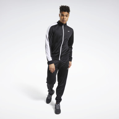 Men Fitness & Training Black MYT Track Suit