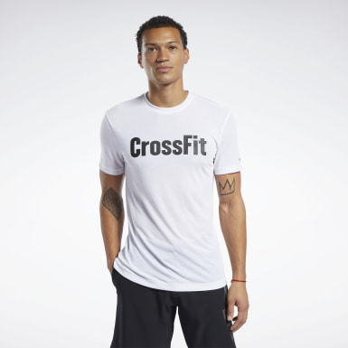 T-shirt Reebok CrossFit® Read Blanc Hommes Cross Training