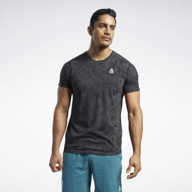 Camiseta Reebok CrossFit® Move Negro Hombre Cross Training