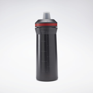Fitness & Training Water Bottle – Black Schwarz