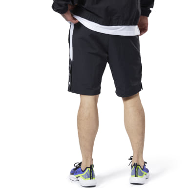 Men Fitness & Training Black Meet You There Woven Shorts