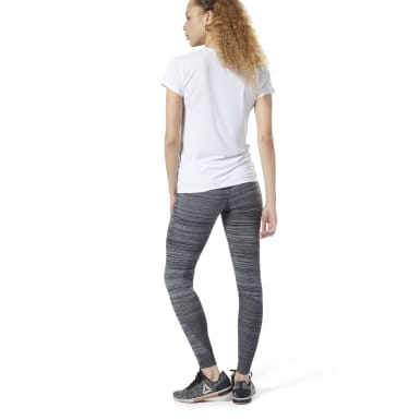 Women Training Grey Knit Fitted Pants