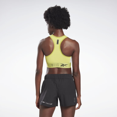 Women Studio Yellow LES MILLS® Low-Impact Bralette