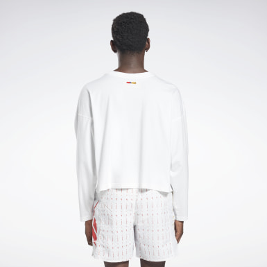 Classics White Reebok by Pyer Moss Long Sleeve T-Shirt
