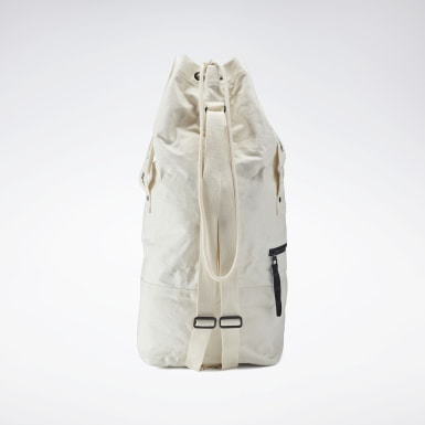Women Classics White VB Two Way Duffel